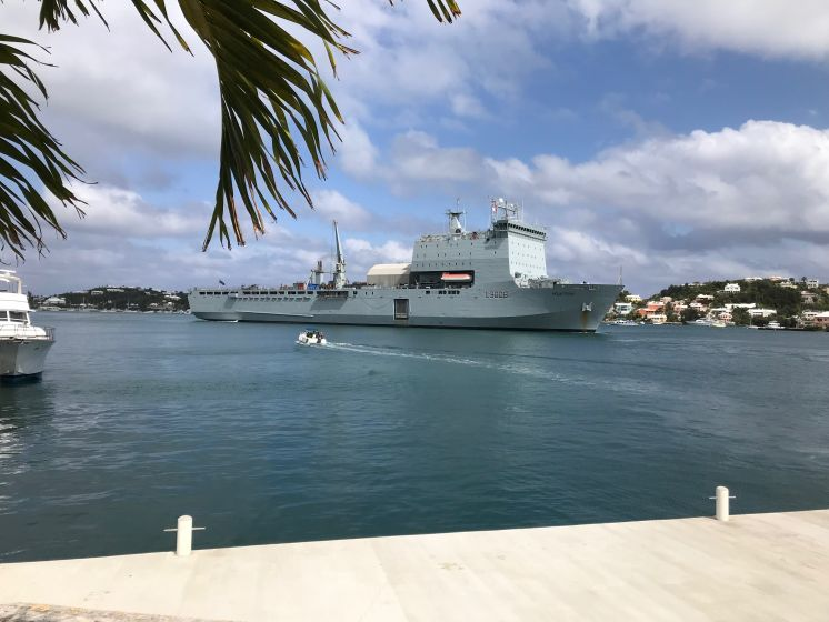 RBR Equipment Sails to Caribbean