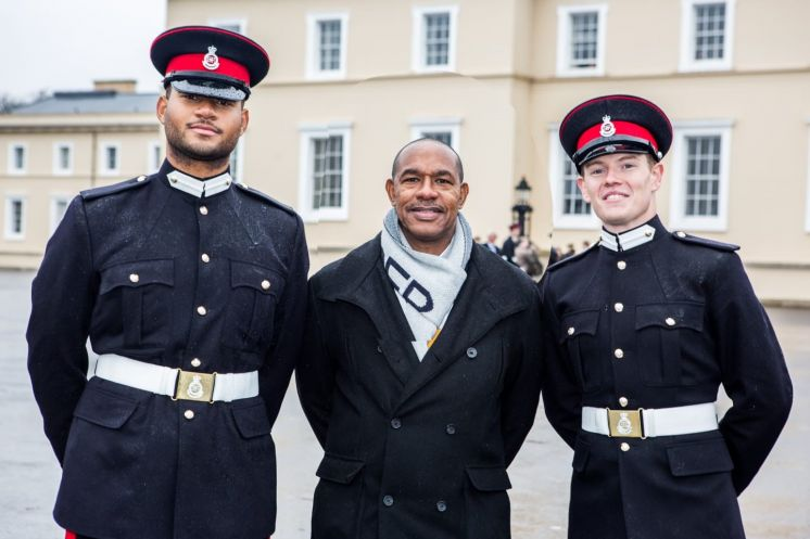 Two RBR Soldiers Pass Tough Sandhurst Course